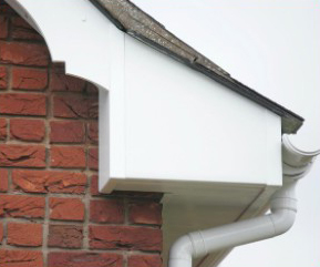 UPVC soffit and fascia