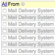 Mail delivery failed returning message to sender