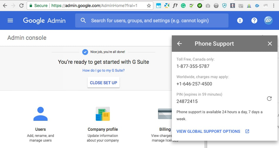 Google Admin Support Number for google File Stream