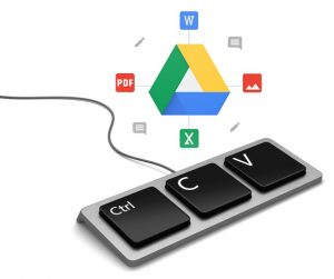 google drive how to duplicate folders with Google files