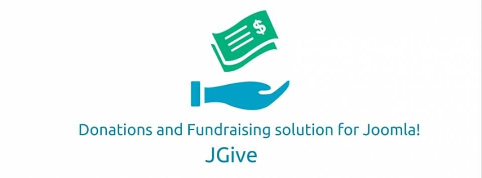 Donations and Fundraising for Joomla! JGive