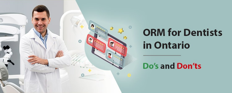 ORM for Dentists in Ontario – Do's and Don'ts