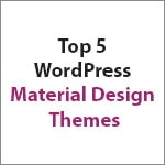 WordPress Material Design Themes Thumbnail