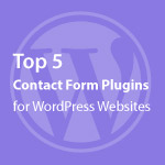 Contact Form Plugins for WordPress Websites Thumbnail