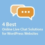 Best Online Live Chat Solutions For WordPress Websites Thumbnail