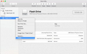 Format flash drive with disk utility mac 2