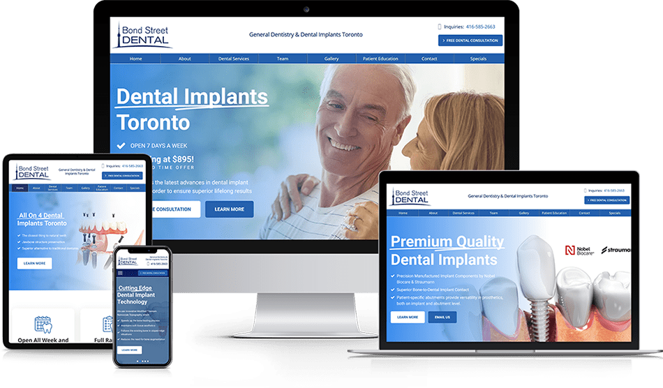 Wisevu Portfolio Dental Implants Toronto